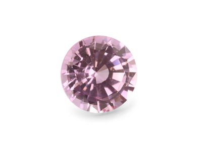 Sapphire Pale Pink 6mm Round (E)