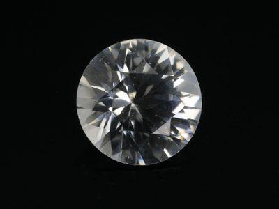Sapphire White 7mm Round (E)