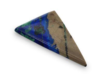 Azurite Malachite 20x15mm Triangle (N)