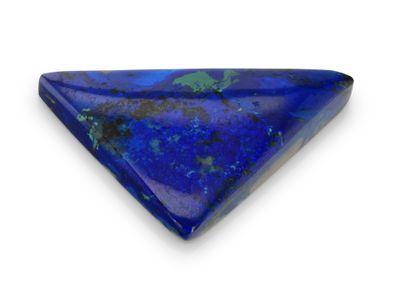 Azurite Malachite 23x21mm Triangle (N) 15.48cts