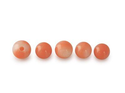 Coral Pink 4mm Bead H/D (N)