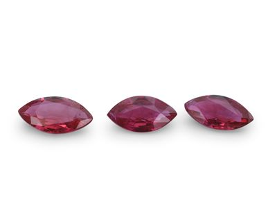 Ruby 6x3mm Marq Good Pink Red (E)