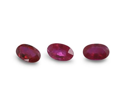 Ruby 5x3mm Oval Good Red (E)