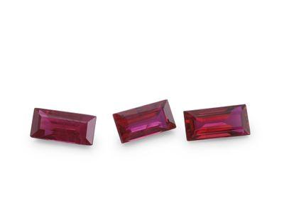 Ruby 5x2.5mm Bag Good Red (E)