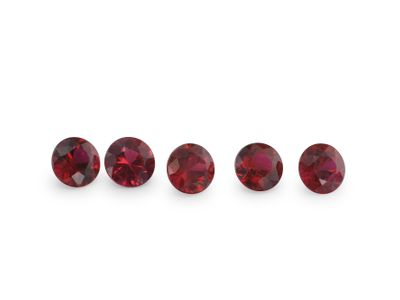 Ruby 2.75mm Round Good Red (E)