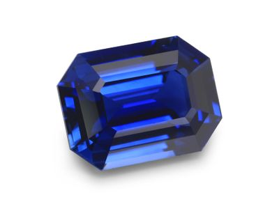 Sapphire Cey Bl 7.7x5.6mm Em/c (E)