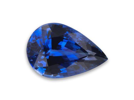 Sapphire Cey Bl 9x6mm Pear (E)