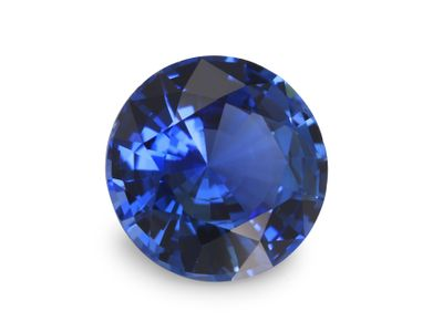 Sapphire Cey Bl 6.85mm Round (E)