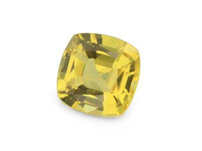 Sapphire Bright Yellow 6.7x6.5mm Sq Cushion (E)
