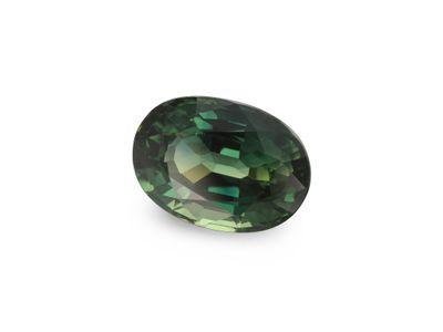 Sapphire Teal 6.9x4.9mm Oval (E)