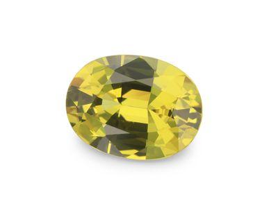Sapphire Bright Yellow 8x6mm Oval (E)