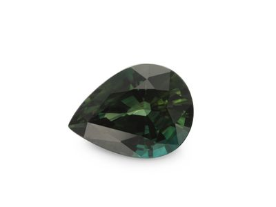 Sapphire Teal 7.6x5.7mm Pear (E)