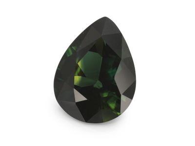 Sapphire Teal 9.8x7.6mm Pear (E)