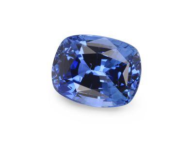 Sapphire Ceylon Mid Blue 7.5x6mm Cushion  (E)