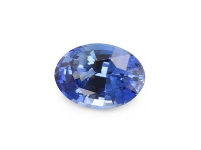 Sapphire Ceylon Bl 7.5x5.4mmOval (E)