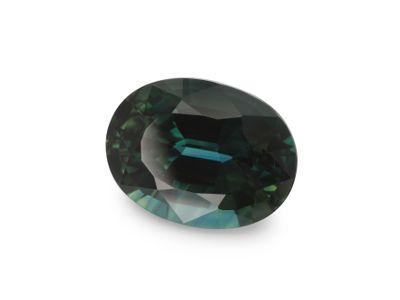 Sapphire Teal 7.1x5.7mm Oval (E)