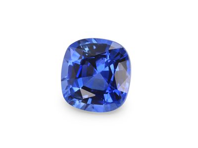 Sapphire Cey Br Blue 6.2x5.8mm Cushion  (E)
