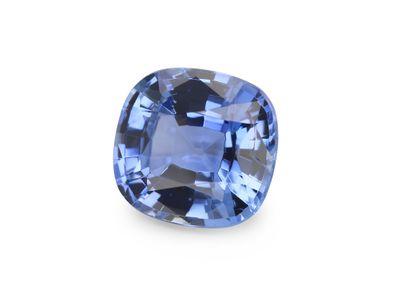 Sapphire Ceylon Lt Blue 6.8x6.4mm Cushion  (E)