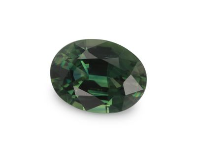 Sapphire Teal 7.8x5.9mm Oval (E)
