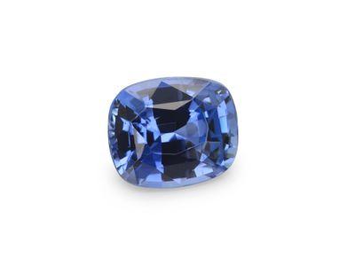 Sapphire Ceylon Lt Blue 6x5mm Cushion  (E)