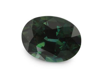 Sapphire Teal 9x7mm Oval(E)