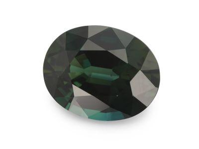 Sapphire Teal 9.4x7.5mm Oval(E)