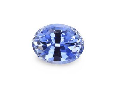 Sapphire Ceylon Mid Blue 7.1x5.6mm Oval (E)