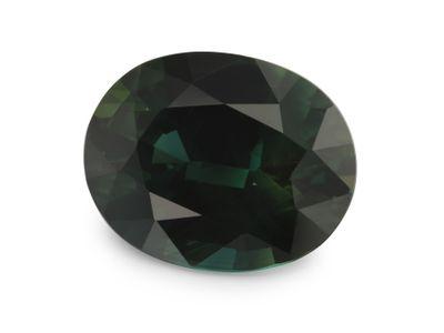 Sapphire Teal 10.3x8.1mm Oval (E)