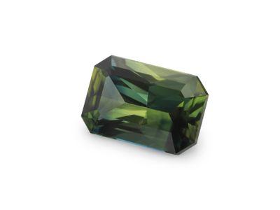 Sapphire Teal 7.3x4.5mm Em/c (E)