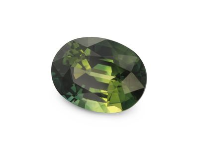 Sapphire Teal 8.1x6.1mm Oval (E)