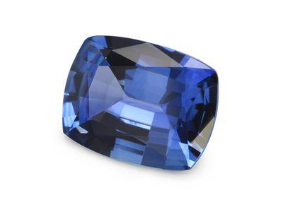 Sapphire Ceylon Mid-Blue 9x7mm Cushion  (E)