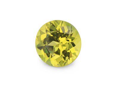 Sapphire Yellow Parti 6.5mm Round (E)