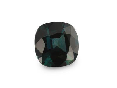 Sapphire Teal 6.4mm Sq Cushion (E)