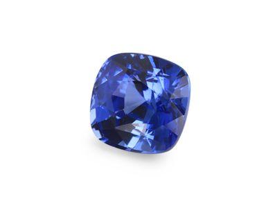 Sapphire Cey Deep Blue 6mm Sq Cushion  (E)