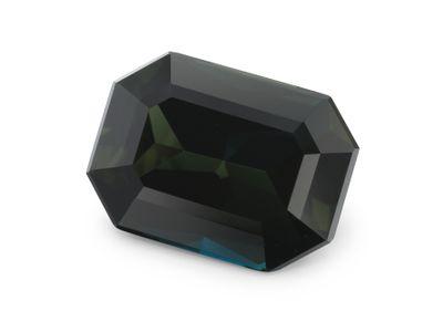 Sapphire Parti Blue 9.5x6.9mm Em/c (E)