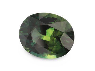 Sapphire Green 10x8mm Oval (E)