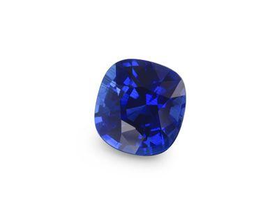 Sapphire Cey Deep Blue 5.7mm Sq Cushion  (E)