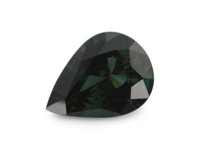 Sapphire Teal 9.5x7.1mm Pear (E)