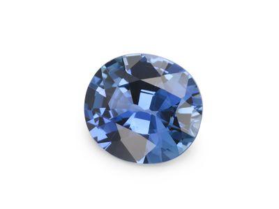 Sapphire Ceylon Mid Blue 7.1x6.5mm Oval (E)