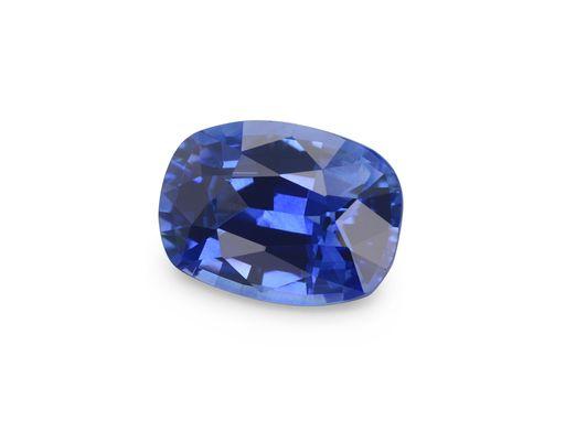Sapphire Ceylon Mid Bl 7x5mm Cushion  (E)