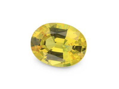 Sapphire Bright Yellow 7.7x6mm Oval (E)