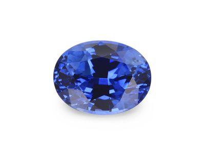Sapphire Ceylon Br Bl 8x6mm Oval (E)