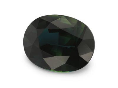 Sapphire Teal 10.2x8mm Oval (E)
