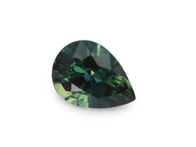 Sapphire Teal 7.2x5.3mm Pear (E)