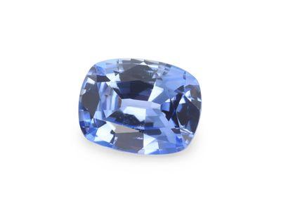 Sapphire Ceylon Lt Blue 7.2x5.5mm Cushion  (E)