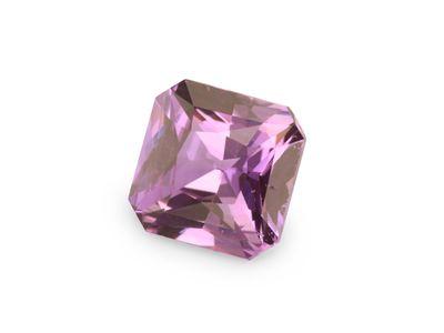 Sapphire Mid Pink 5.9x5.8mm Sq Em/c (E)