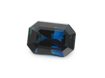 Sapphire Aust Bl 7.4x5.3mm Em/c (E)