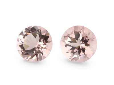 Pink Morganite Dark 7mm Round (T)