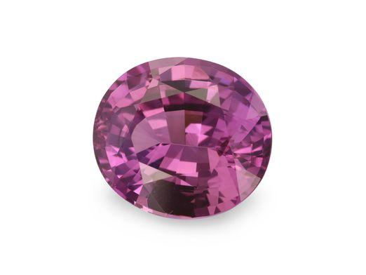 Sapphire Magenta 8.8x7.9mm Oval (E)