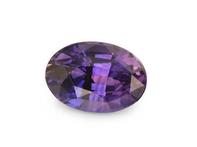 Sapphire Purple 9.4x6.5mm Oval (E)